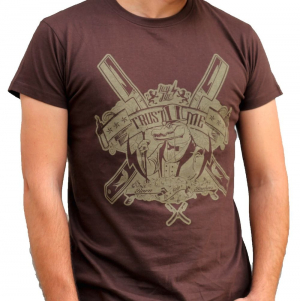 Camiseta-Hey-Joe-Monoculo-Marron