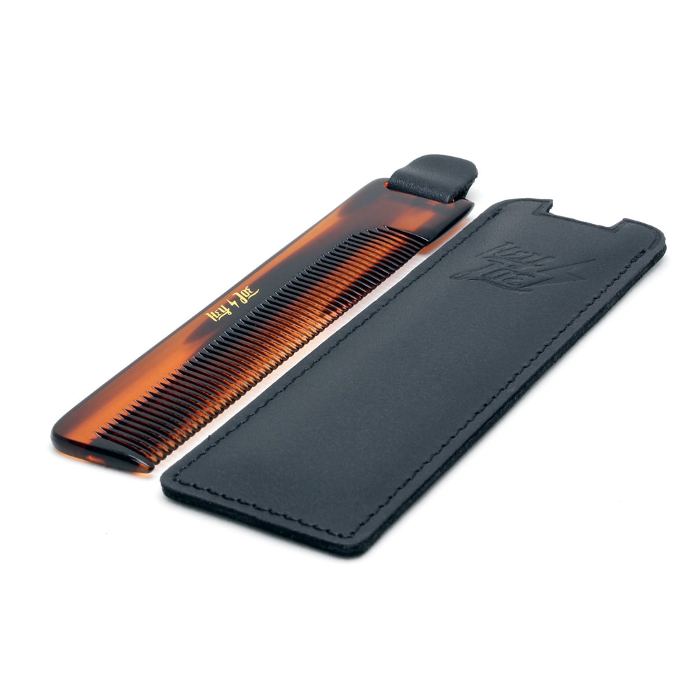 Deluxe Comb Leather Case 02