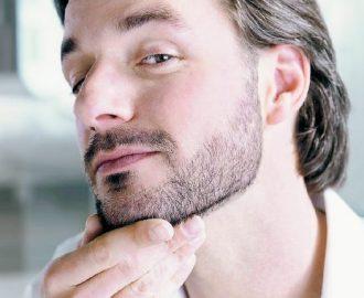 como arreglar la barba corta